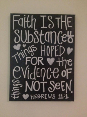 Bible Verse Quote on Canvase