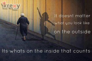 Whats On The Inside Quotes
