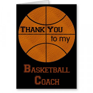 Thank You Quotes For Basketball Coaches #1