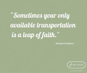... leap of faith this week! #MondayMotivation #QOTD #Inspiration #Quotes