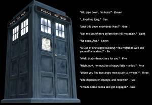 Doctor Who Funny Quotes