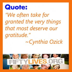 Quote from Cynthia Ozick