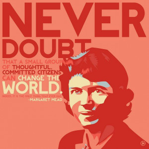 Margaret Mead's quote