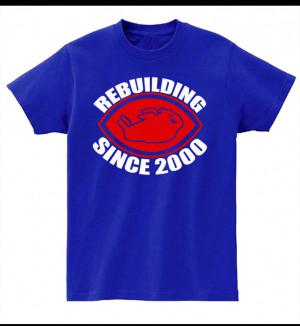 Buffalo Bills T-Shirt Rebuilding Since 2000