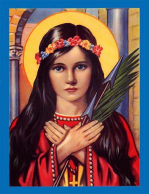 Our Patroness, Saint Philomena