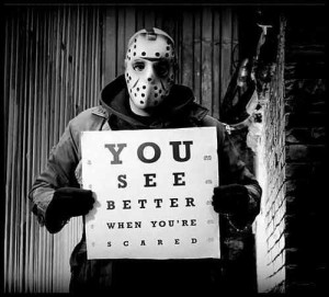Friday the 13th - Jason eye chart