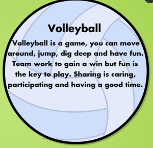 Volleyball Poems