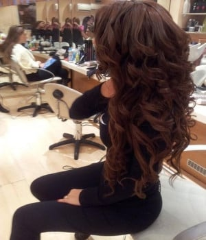 2015 Long Curly Hairstyles