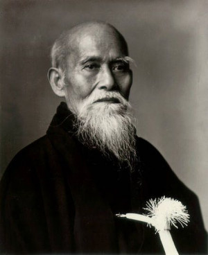 ... martial artist and founder of the Japanese martial art of aikido