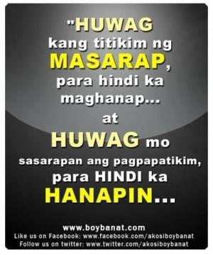 Mga banat love quotes tagalog