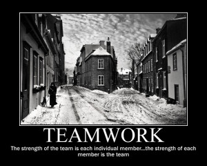 Teamwork The Strength Of The