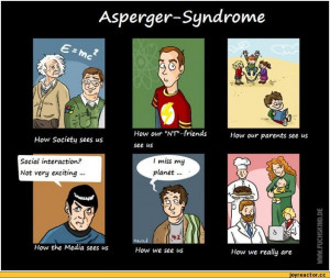 What having a child with Asperger's really means