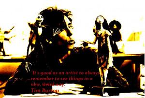 Tim Burton Tim Burton quote