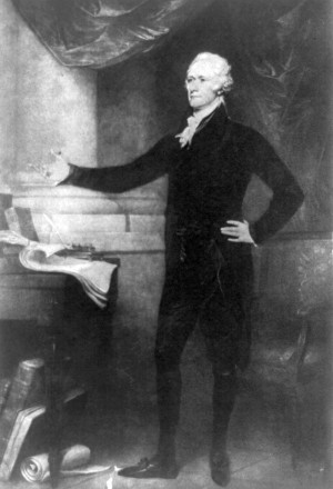 """Alexander Hamilton: """"Opinion as to the Constitutionality of the Bank ..."""