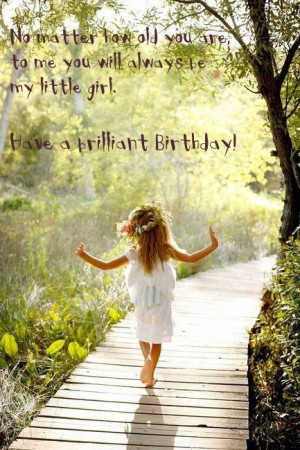 Daughter Birthday Quotes, Sayings, and Wishes
