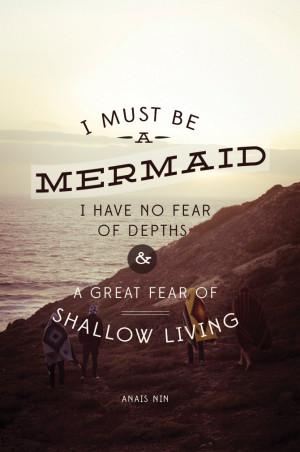 mermaid quotes goddess