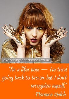 Redhead humour and quotes