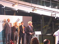 ... victory speech in City Hall after being elected Mayor of London
