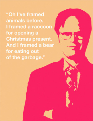 The Office Dwight.K.Schrute :))