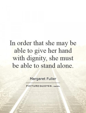 Dignity Quotes and Sayings