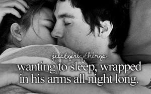 Him sleep Cuddle
