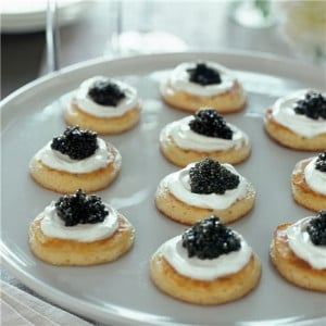 Blinis with Caviar