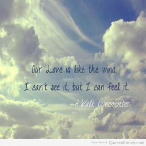 AWalktoRemeber-loveQuotess-ourlove-blue-sky-Quotes.jpg