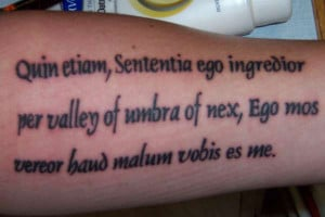 Latin Religious Quotes For Tattoos ~ 40 Awe-Inspiring Tattoo Sayings ...