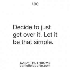 Let It Be That Simple / Quotes