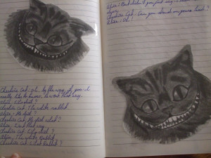Some quotes from the Cheshire cat by Brittje-Zonne-Pitje