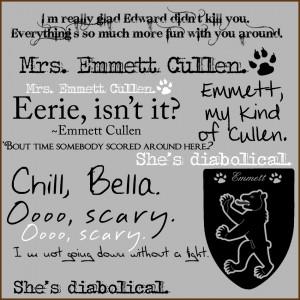 cool quotes emmett twilight saga quotes