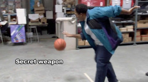 The Office quotes basketball secret weapon stanley