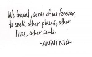 To seek other places #travel #quotes