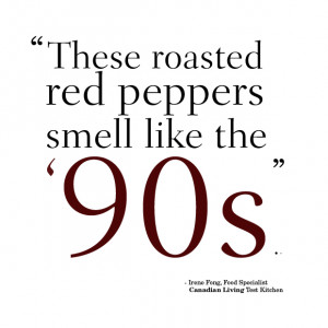 Test Kitchen quote of the day: Nose-talgia