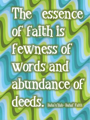 Baha'i Quote/Ptintable