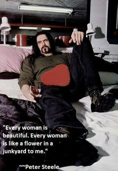 The very talented Peter Steele!