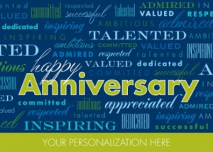 Appreciation Business Anniversary Card