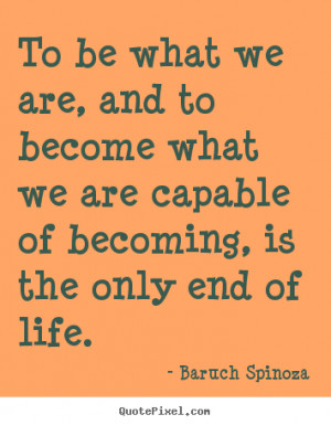 baruch spinoza motivational diy quote wall art design your own quote