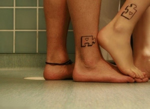Want this. His and her tattoo