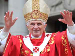 "... comfort, but for greatness, for good."" — Pope Benedict XVI, 2005"