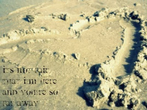 ... for this image include: text, beach, distance, photography and quotes