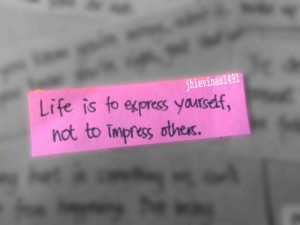 Express Yourself Quotes