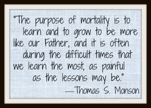 Thomas's Monson Quotes