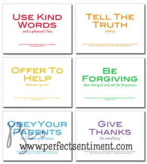 Bible Verses About Family Printable w/ bible verses