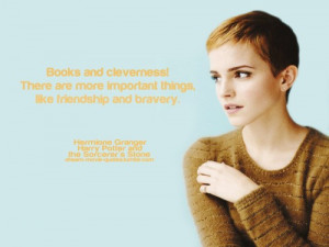 Emma watson, quotes, sayings, books, harry potter