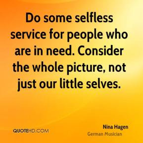 Selfless Quotes