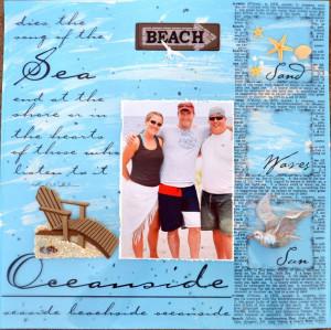 Summer Beach Scrapbook...