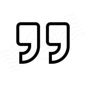 Quotation Mark 2 Icon