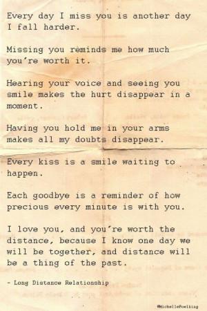 Long Distance Relationship Love