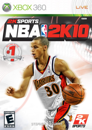 Stephen Curry 2K10 Cover
